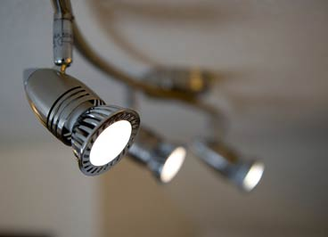 Spot Lights for Kitchens & Bathrooms available in store.